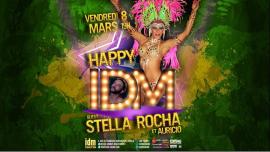 HAPPY IDM #Stella Rocha à Paris le ven.  8 mars 2019 de 19h00 à 21h00 (Sexe Gay)