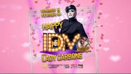 HAPPY IDM #Lady Carbone à Paris le ven.  8 février 2019 de 19h00 à 21h00 (Sexe Gay)