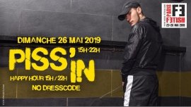 Piss'In à Paris le dim. 26 mai 2019 de 15h00 à 22h00 (Sexe Gay)