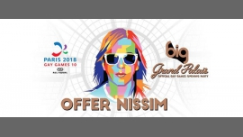 BIG Grand Palais with Offer Nissim (Gay Games Opening Party) à Paris le sam.  4 août 2018 de 23h00 à 06h00 (Clubbing Gay)