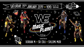 WE Party Paris - Magic Planet à Paris le sam. 19 janvier 2019 de 23h45 à 06h30 (Clubbing Gay)