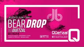 Dj set RAPH (promoteur Beardrop db) au Quetzal à Paris le jeu. 13 juin 2019 à 19h00 (After-Work Gay, Bear)