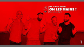 Oh les Mains ! en Paris le vie 26 de abril de 2019 19:00-02:00 (After-Work Gay)