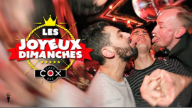 Les dimanches Joyeux à Paris le dim.  5 mai 2019 de 18h00 à 02h00 (After-Work Gay)