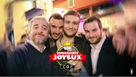 Les dimanches Joyeux in Paris le Sun, May 12, 2019 from 06:00 pm to 02:00 am (After-Work Gay)