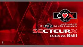 L'apéro des 10ans du Secteur X <3 en Paris le jue  9 de mayo de 2019 19:00-02:00 (After-Work Gay)