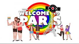 巴黎Welcome To Paris ! #cox2019年 7月28日,19:00(男同性恋 下班后的活动)