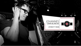 Carte Blanche à Johannes à Paris le jeu. 27 avril 2017 de 19h30 à 23h30 (After-Work Gay)
