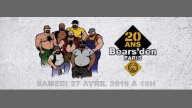 20 ans ! Happy Birthday Bears'den ! à Paris le sam. 27 avril 2019 de 19h00 à 04h00 (Clubbing Gay, Bear)