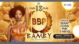 BBP CLEOPATRE SHOW BAMBY - 18 Mai 2k19 in Paris le Sat, May 18, 2019 from 11:45 pm to 06:00 am (Clubbing Lesbian)