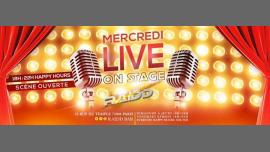 Mercredi Live On Stage à Paris le mer. 27 février 2019 de 18h00 à 04h00 (Clubbing Gay)