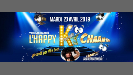 L'happy ki chante en Paris le mar 23 de abril de 2019 18:00-23:00 (After-Work Gay)
