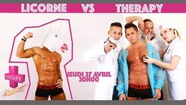 """Jeudi Thérapy """"Licorne VS Thérapy"""" à Paris le jeu. 27 avril 2017 de 20h00 à 04h00 (After-Work Gay)"""