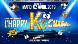 L'happy KI chante à Paris le mar.  2 avril 2019 de 18h00 à 23h00 (After-Work Gay)