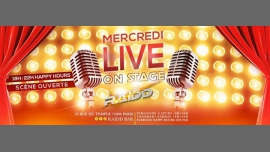 Mercredi Live On Stage à Paris le mer. 14 novembre 2018 de 18h00 à 04h00 (Clubbing Gay)