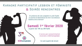 Grande soirée lesbienne et féministe a Parigi le sab  1 febbraio 2020 19:00-06:00 (After-work Gay friendly, Lesbica)