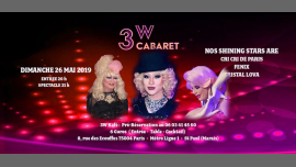 3W Cabaret in Paris le Sun, May 26, 2019 from 07:00 pm to 03:00 am (Clubbing Gay Friendly, Lesbian)