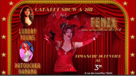 Cabaret SHOW à Paris le dim. 10 février 2019 de 19h00 à 03h00 (After-Work Gay Friendly, Lesbienne)