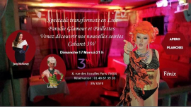 3W Cabaret à Paris le dim. 31 mars 2019 de 19h00 à 03h00 (After-Work Gay Friendly, Lesbienne)