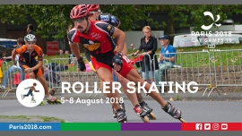 Gay Games 10 - Roller Skating in Paris from  5 til August  8, 2018 (Sport Gay, Lesbian, Trans, Bi)