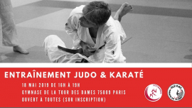 Entraînement commun karaté-judo 100% féminin in Paris le Sat, May 18, 2019 from 04:00 pm to 07:00 pm (Sport Lesbian)