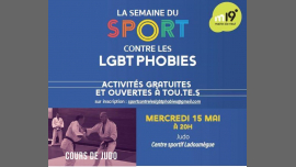 Judo contre les LGBT Phobies in Paris le Wed, May 15, 2019 from 08:00 pm to 10:00 pm (Sport Gay, Lesbian, Hetero Friendly, Trans, Bi)