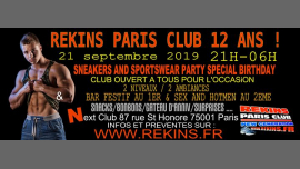 Sneakers And Sportswear Party Special 12th Birthday Edition a Parigi le sab 21 settembre 2019 21:00-23:00 (Sesso Gay)