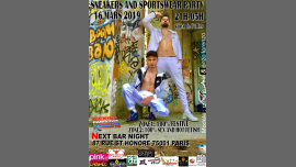 Sneakers and sportswear party rekins paris club à Paris le sam. 16 mars 2019 de 21h00 à 15h00 (Sexe Gay)