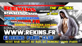 Sneakers and sportswear party in Paris le Sa 23. Februar, 2019 22.00 bis 23.00 (Sexe Gay)