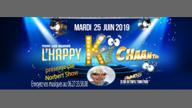L'happy ki chante en Paris le mar 25 de junio de 2019 18:00-23:00 (After-Work Gay)