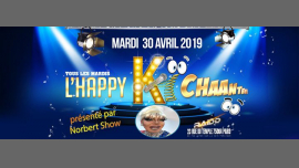 L'Happy ki chante avec Norbert show in Paris le Tue, April 30, 2019 from 06:00 pm to 11:00 pm (After-Work Gay)