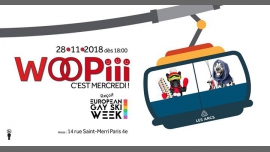 Woopiii, c'est mercredi in Paris le Wed, November 28, 2018 from 06:00 pm to 02:00 am (After-Work Gay, Lesbian, Hetero Friendly)