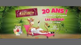 La Nuit des Crazyvores + 20 Ans ! à Paris le sam.  6 avril 2019 de 23h55 à 06h55 (Clubbing Gay)