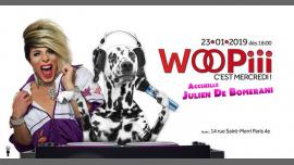 Woopiii, c'est mercredi ! à Paris le mer. 23 janvier 2019 de 18h00 à 02h00 (After-Work Gay)