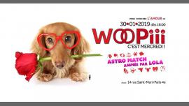 Woopiii, c'est mercredi ! Viens chercher l'amour ! à Paris le mer. 30 janvier 2019 de 18h00 à 02h00 (After-Work Gay)