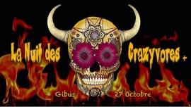 La Nuit des Crazyvores + in Paris le Sat, October 27, 2018 from 11:55 pm to 06:00 am (Clubbing Gay, Lesbian, Hetero Friendly)