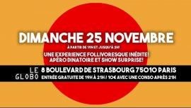 La Nuit des Follivores / Crazyvores + #La Dominicale à Paris le dim. 25 novembre 2018 de 19h00 à 03h00 (Clubbing Gay)