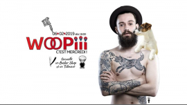Woopiii, c'est mercredi ! in Paris le Wed, February  6, 2019 from 06:00 pm to 02:00 am (After-Work Gay, Lesbian)