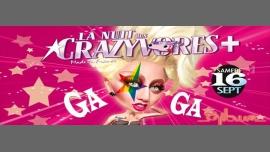 La Nuit des Crazyvores + à Paris le sam. 16 septembre 2017 de 23h59 à 06h00 (Clubbing Gay, Lesbienne, Hétéro Friendly)