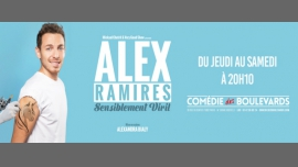 Alex Ramirès dans Sensiblement Viril à Paris le sam.  3 mars 2018 de 20h10 à 21h20 (Spectacle Gay Friendly, Lesbienne Friendly)