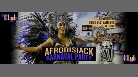 Afrodisiack Karnaval Party in Paris le Sa 23. Februar, 2019 23.55 bis 06.30 (Clubbing Gay)