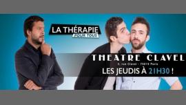 La Thérapie pour tous à Paris le jeu. 27 avril 2017 de 21h30 à 22h40 (Théâtre Gay Friendly)