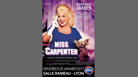 Miss Carpenter avec Marianne James in Lyon le Fr 20. Januar, 2017 20.30 bis 22.30 (Vorstellung Gay Friendly)