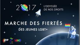 Char des jeunes LGBT+ (Caélif / GLUP / Mag Jeunes LGBT) à Paris le sam. 24 juin 2017 de 11h00 à 19h00 (Parades / Défilés Gay, Lesbienne, Trans, Bi)