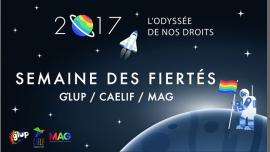 Semaine des Fiertés LGBT+ | Caélif / GLUP / Mag Jeunes LGBT à Paris du 16 au 25 juin 2017 (After-Work Gay, Lesbienne, Trans, Bi)