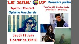 Apero Concert Ophélie Anacharsis et ses invitées à Paris le jeu. 13 juin 2019 de 19h30 à 22h30 (Concert Gay Friendly, Lesbienne)