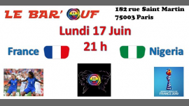 Le Bar'Ouf : Coupe du monde feminine de foot France-Nigeria in Paris le Mon, June 17, 2019 from 06:00 pm to 11:55 pm (After-Work Gay Friendly, Lesbian)
