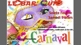 Le Bar'Ouf : Soiree Carnaval à Paris le sam.  9 mars 2019 de 18h00 à 01h30 (After-Work Gay Friendly, Lesbienne)