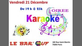 Le Bar'Ouf : Soiree Karaoké à Paris le ven. 21 décembre 2018 de 19h00 à 22h30 (After-Work Gay Friendly, Lesbienne)