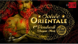 Soirée Orientale in Paris from November  3, 2017 til March  3, 2018 (After-Work Gay, Bear)